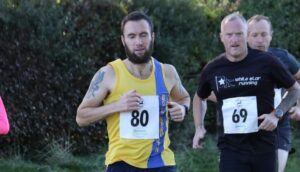 Trev Elkins in the Race on the Chase 10k